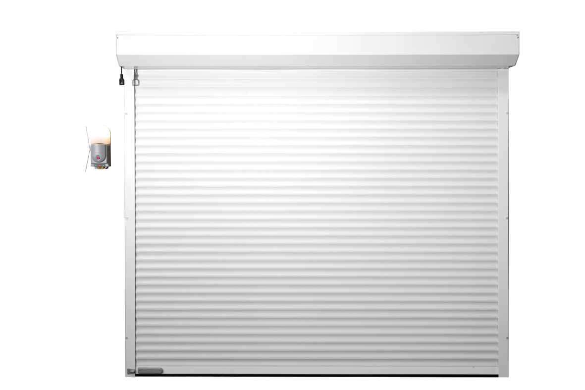 Gliderol Compact Insulated Roller Garage Door Laminated