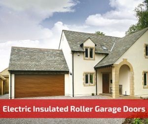 Electric Insulated Roller Shutter Garage Doors