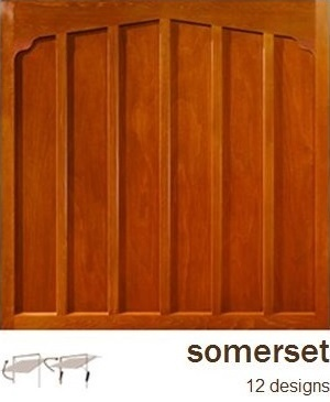Woodrite Somerset Wooden Garage Doors